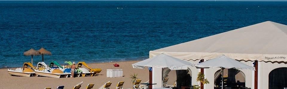 Chiringuito playa Bahía Luz