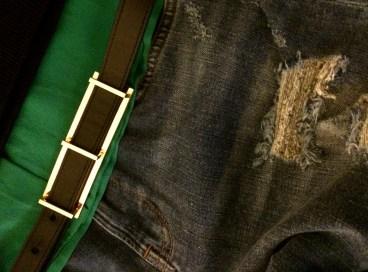 Belt: & Other Stories Jeans: All Saints
