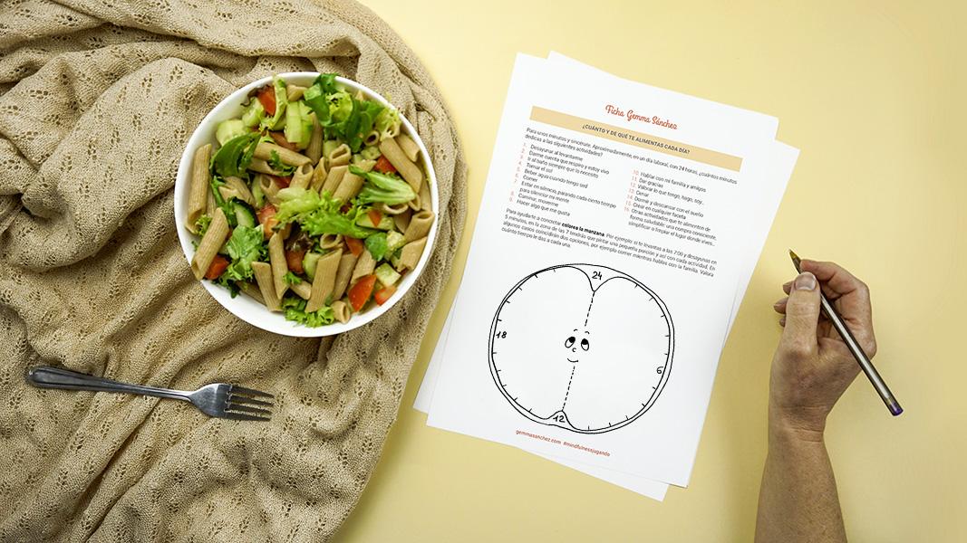 Actividades comer con mindfulness