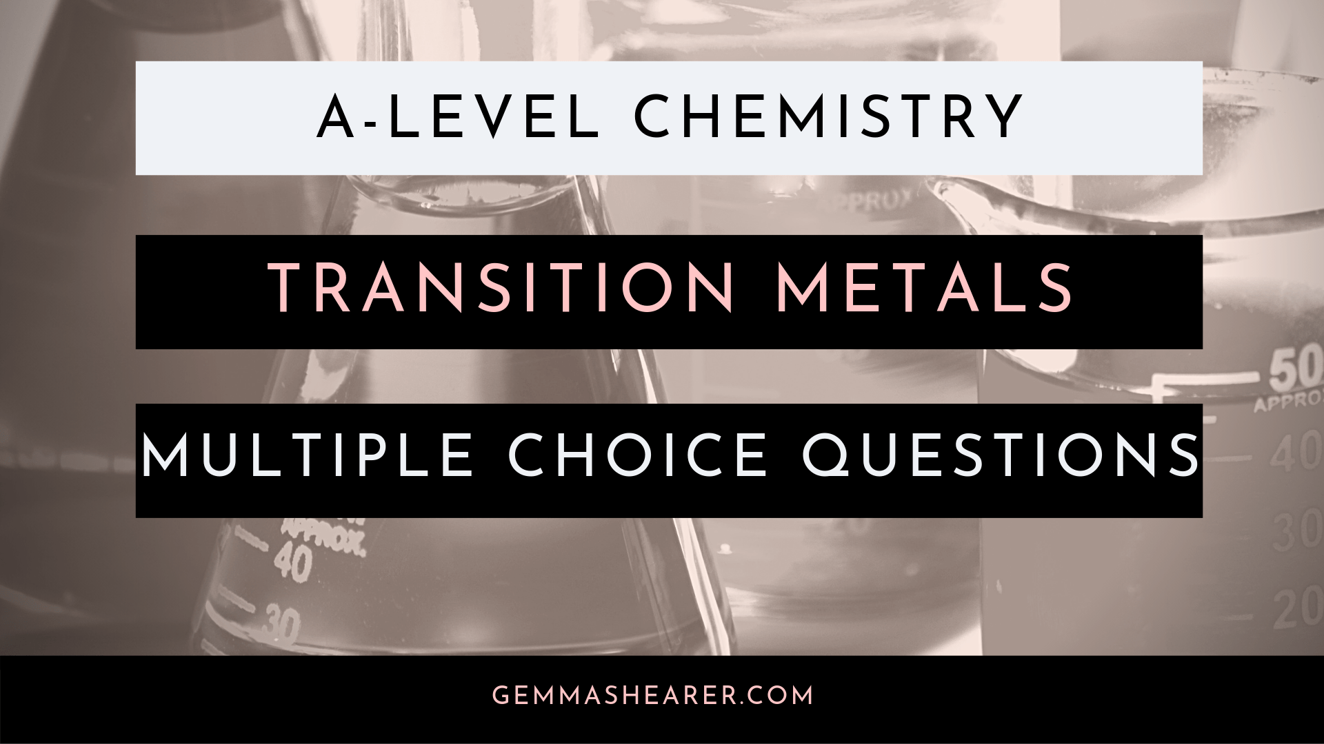 transition metals multiple choice questions