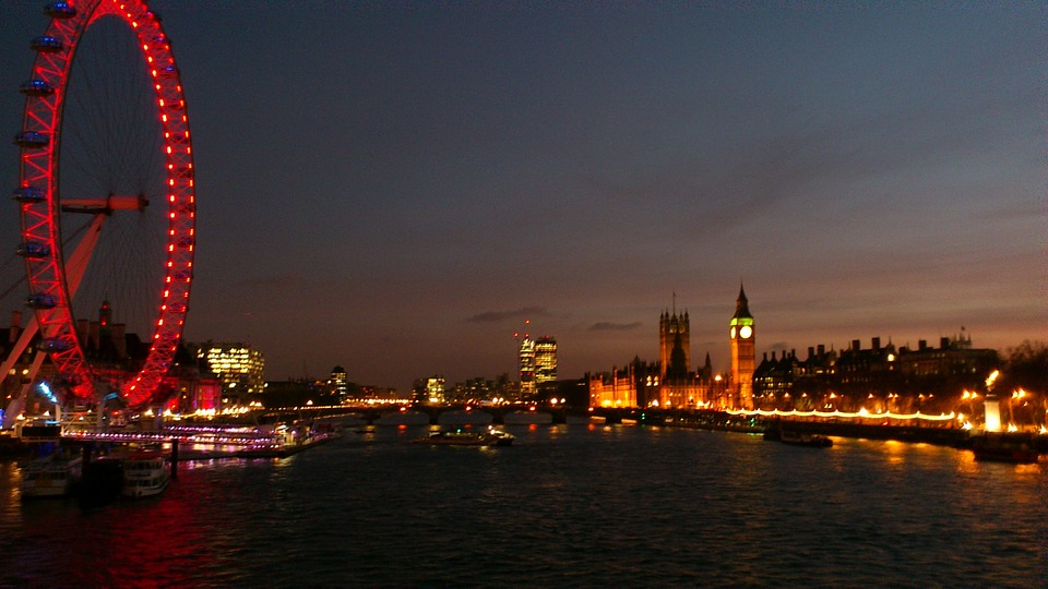 River Walk Thames London Eye London Night 289986 - A Night Out In London … With A Difference