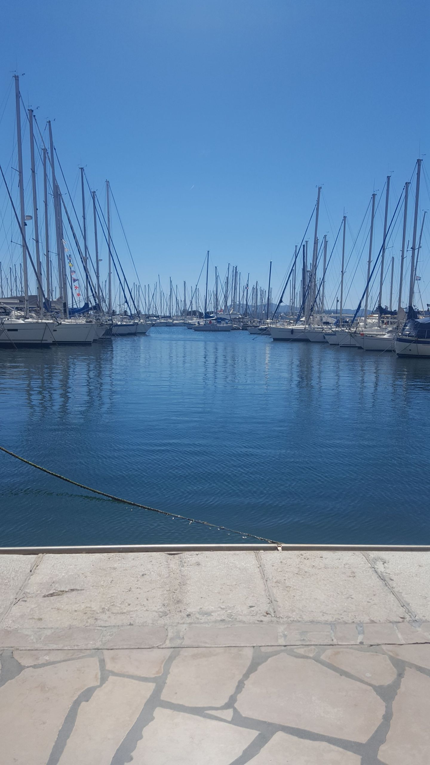 South of France marina