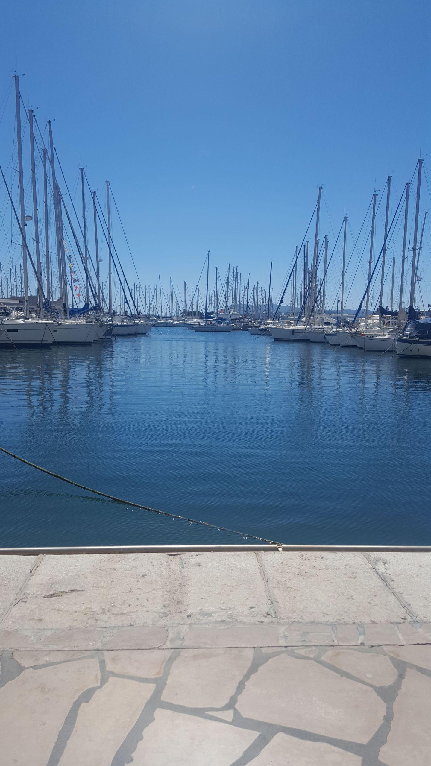 South of France marina