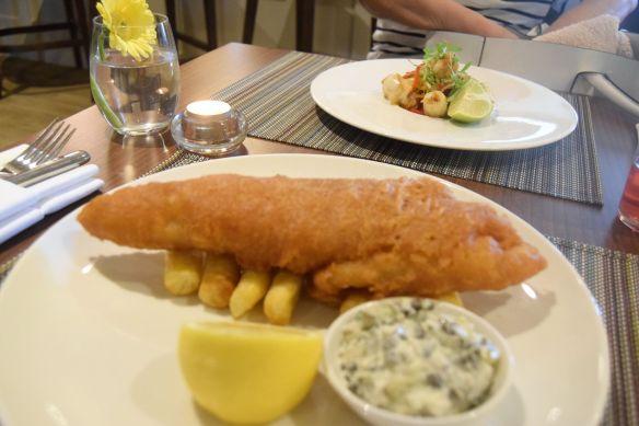 fish and chips Verbena spa
