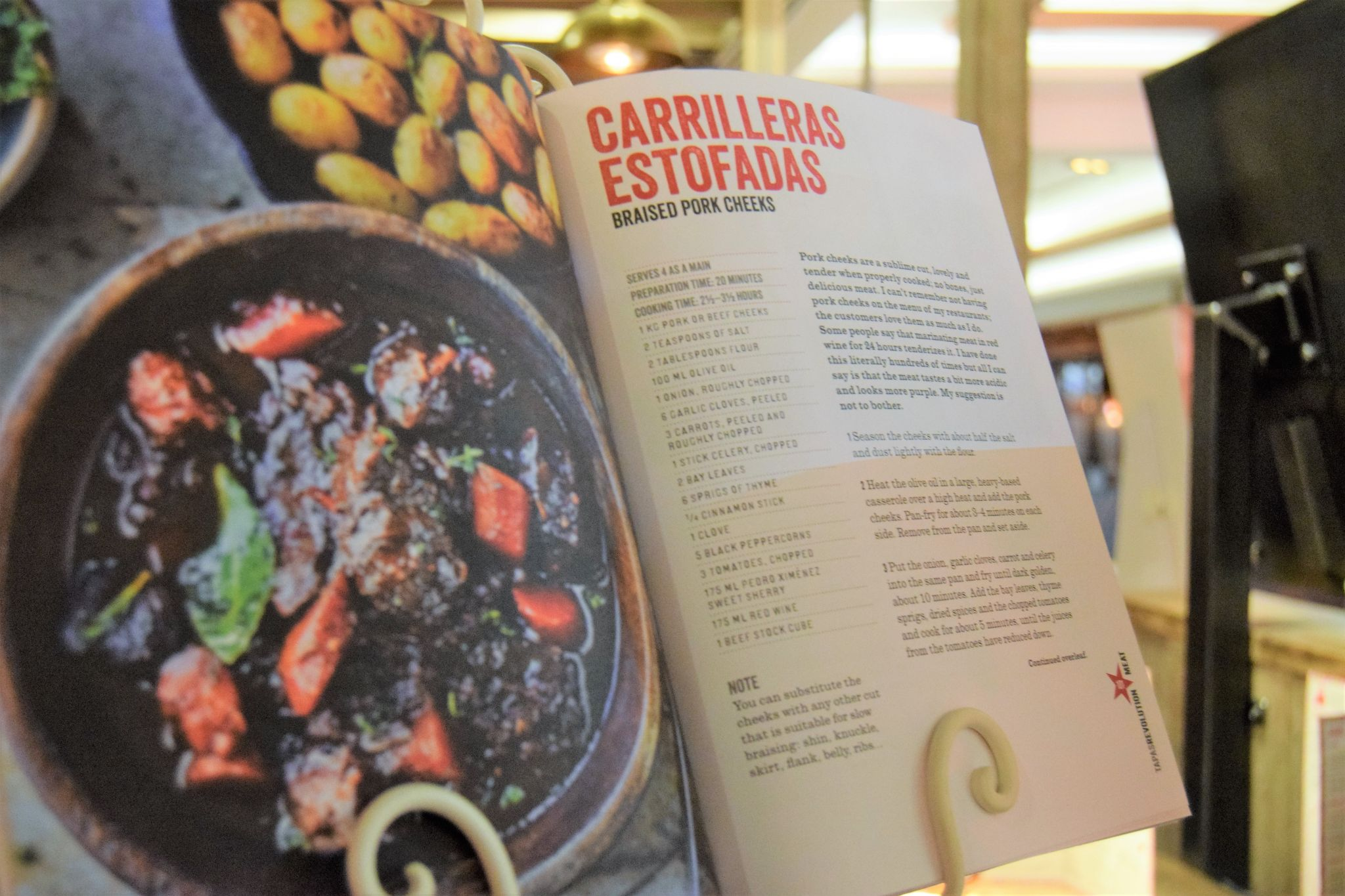 tapas revolution recipe book