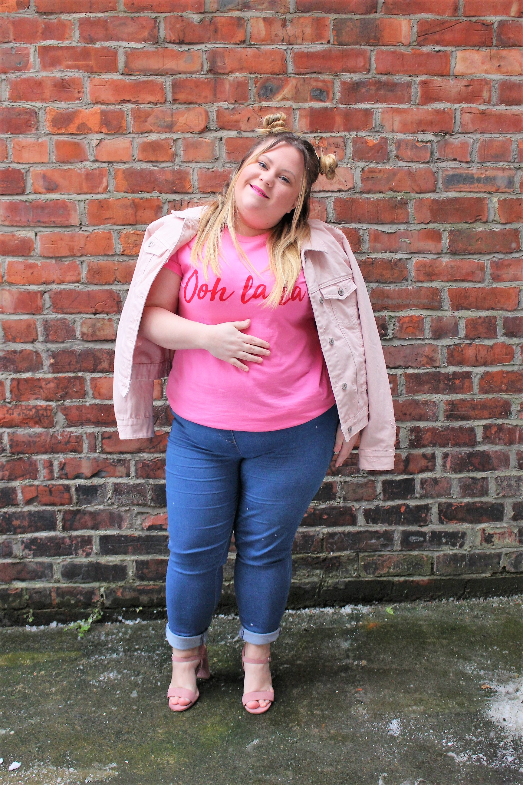 simply be pink t shirt