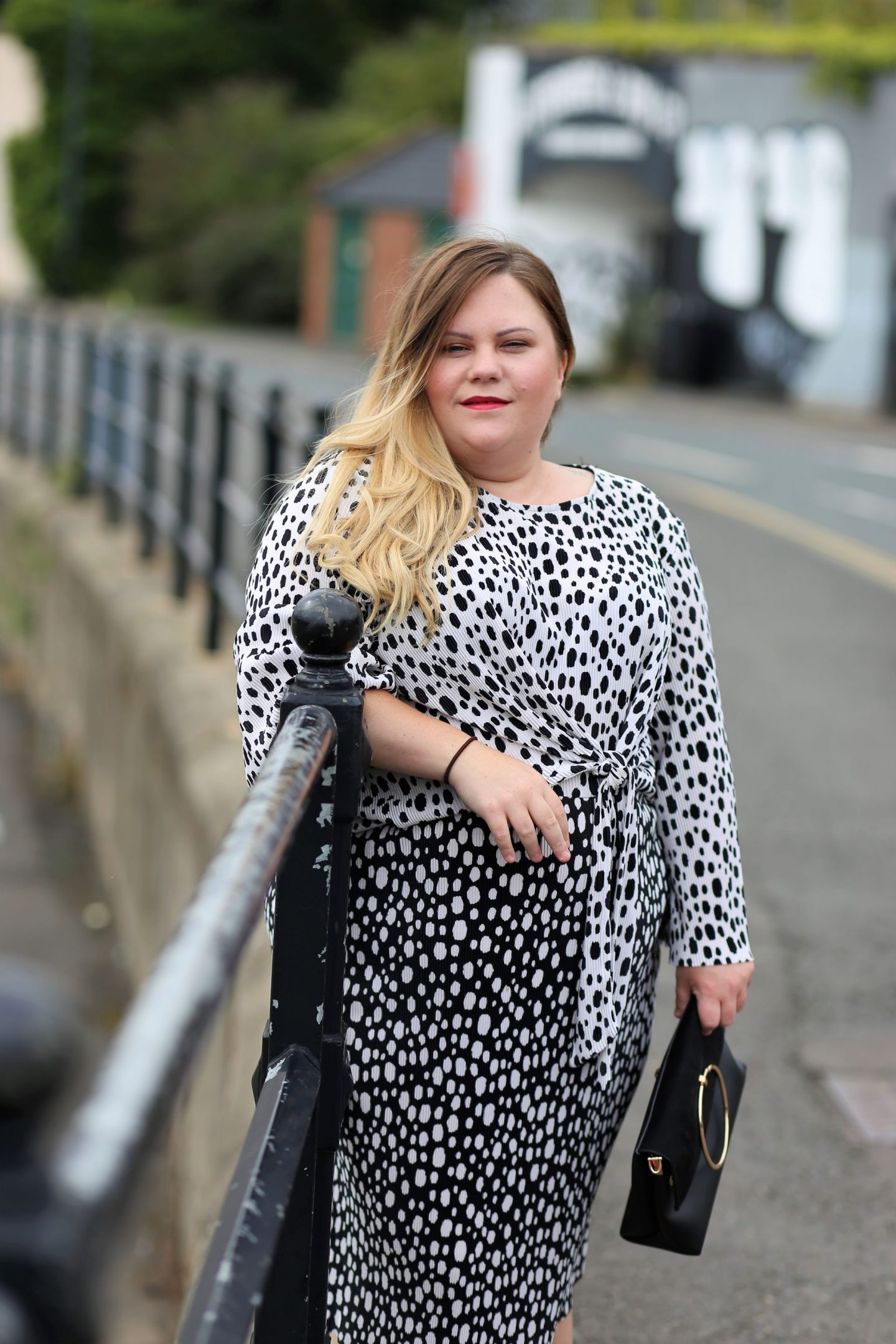 Polka dot for plus size