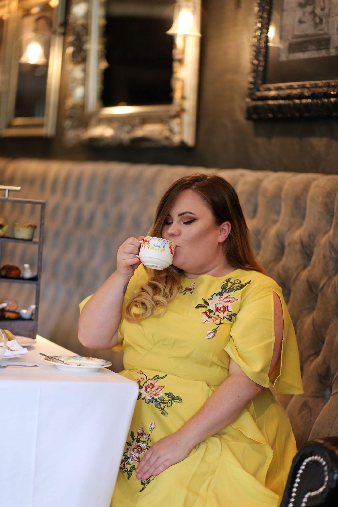Afternoon Tea At Slayley Hall