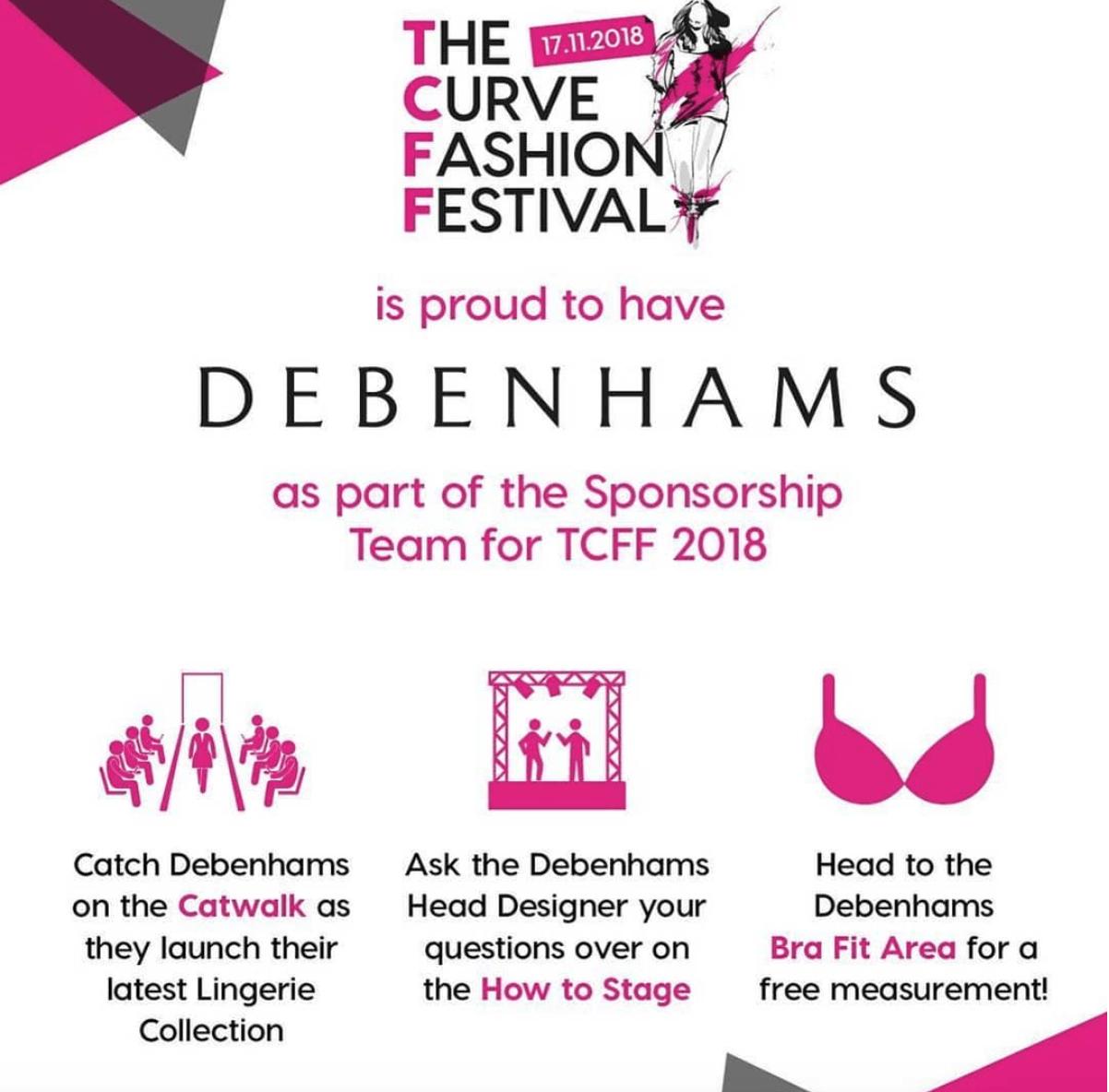 The Curve Fashion Festival With Debenhams