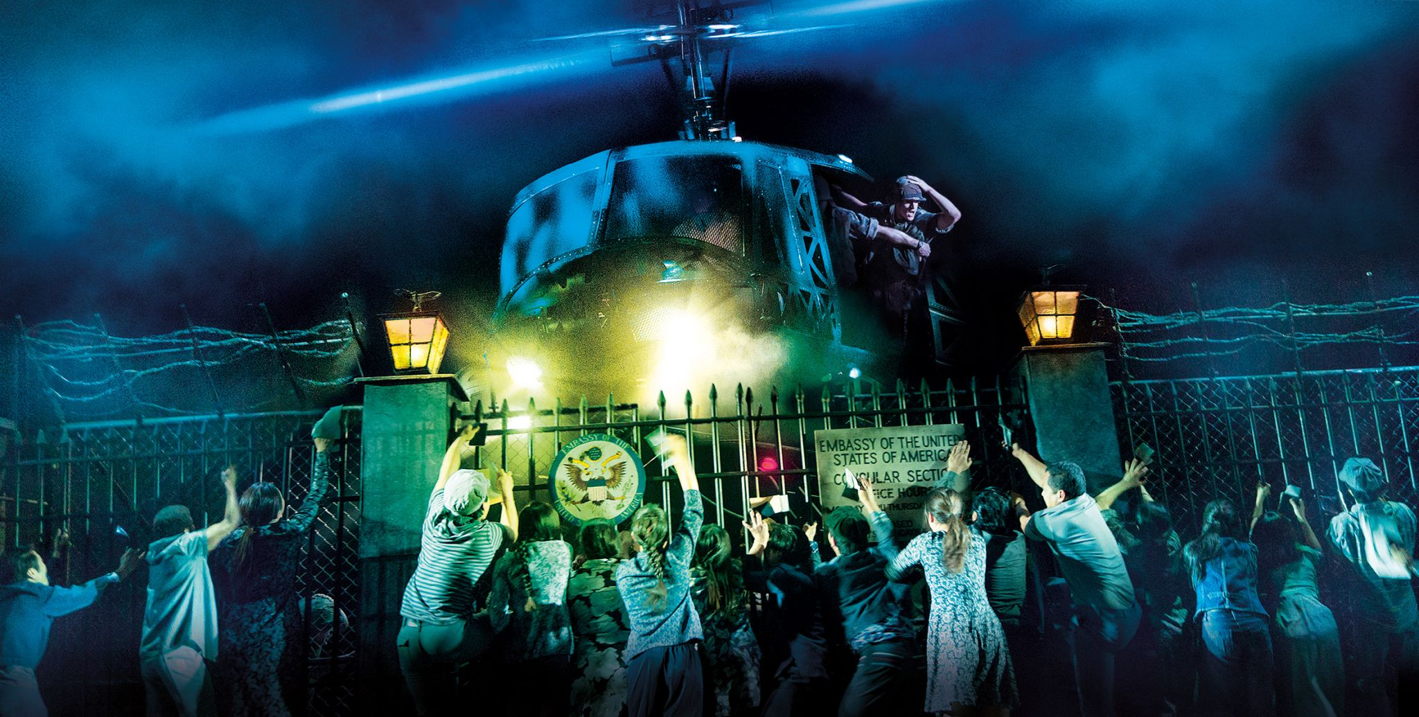 MISS SAIGON. Company. Photo Cameron Mackintosh 1440x728 - Sunderland Empire: Farewell Miss Siagon