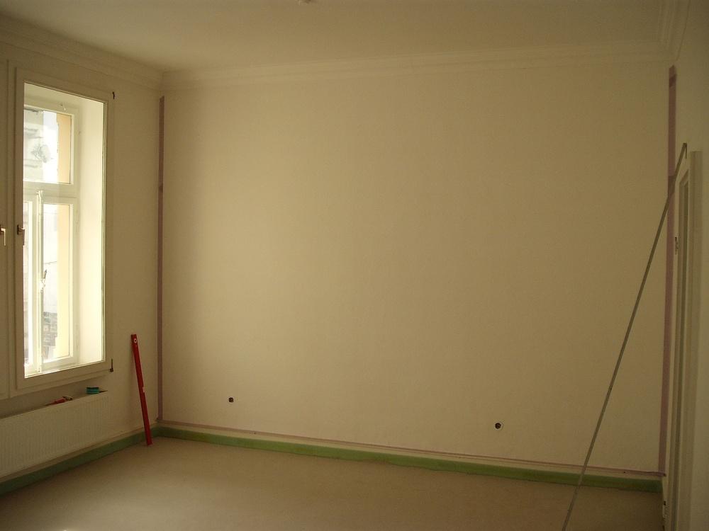 Farbige Wandflächen im Altbau - GEMO-SERVICE