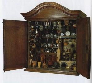 Cabinet Model Kitchen c.1600s