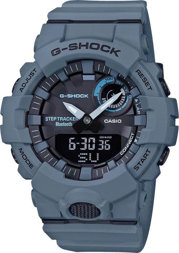 G-SHOCK Bluetooth Connectivity Men's Analog Digital Watch - Grey - Gemorie