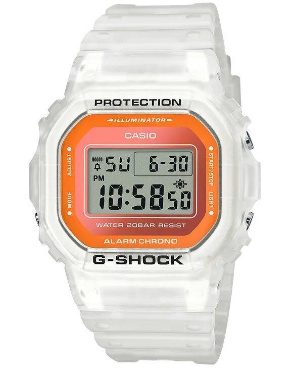G-SHOCK G-SHOCK Fluorescent Mineral Glass Men's Watch - White - Gemorie