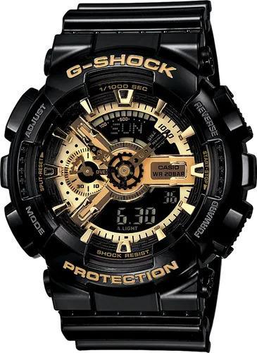 G-SHOCK G-SHOCK GA-110GB-1A MEN Casio- BLACK AND GOLD - Gemorie
