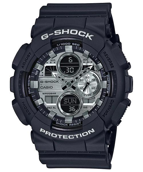 G-SHOCK G-SHOCK GA-140GM-1A1 Casio- BLACK AND SILVER - Gemorie