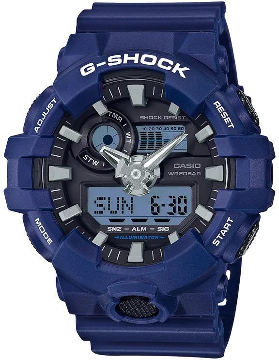 G-SHOCK G-SHOCK GA-700-2A Casio- NAVY BLUE - Gemorie