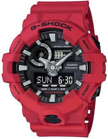 G-SHOCK G-SHOCK GA-700-4A Casio- RED - Gemorie