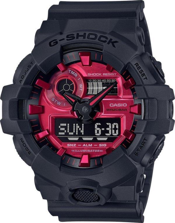 G-SHOCK G-SHOCK GA700AR-1A GS AD RSN BK/RD - Gemorie