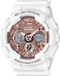 G-SHOCK G-SHOCK GMA-S120MF-7A2- WHITE & ROSE GOLD - Gemorie