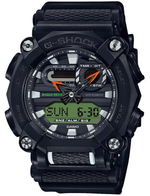 G-SHOCK G-SHOCK Interchangable Band Structure Men's Watch - Black - Gemorie
