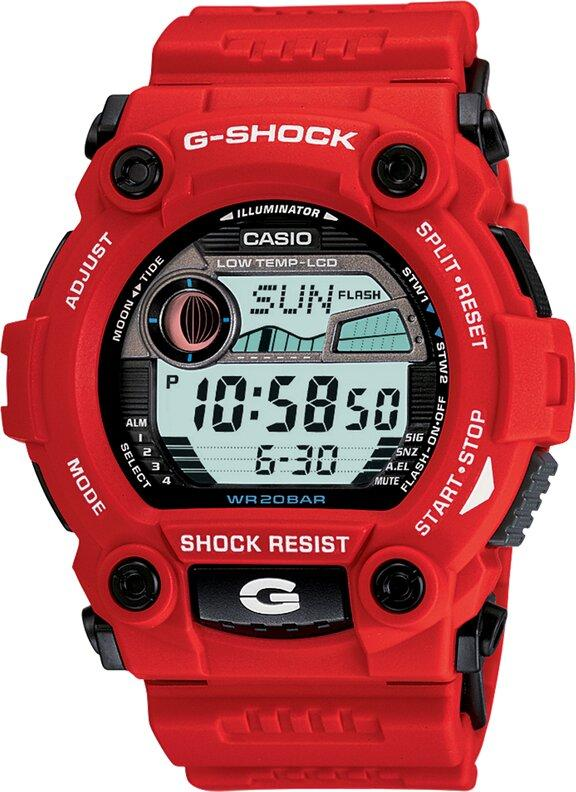 G-SHOCK G-SHOCK Low Temperature Resistant Resin Band Men's Watch - Red - Gemorie