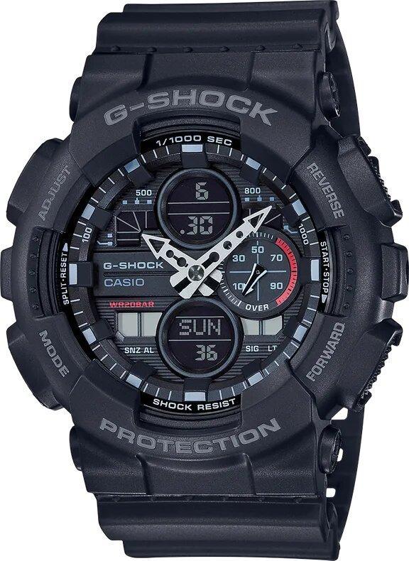 G-SHOCK G-SHOCK Mach Indicator Men's Analog Digital Watch - Black - Gemorie