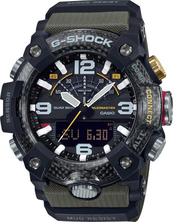G-SHOCK G-SHOCK Master of G Quad Sensor Capabilities Men's Watch - Multicolor - Gemorie