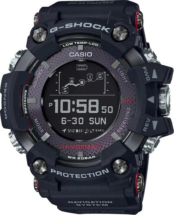 G-SHOCK G-SHOCK Men's Master of G Watch - Black - Gemorie