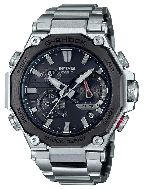 G-SHOCK G-SHOCK MT-G Rechargeable Battery Men's Watch - Stainless Steel - Gemorie