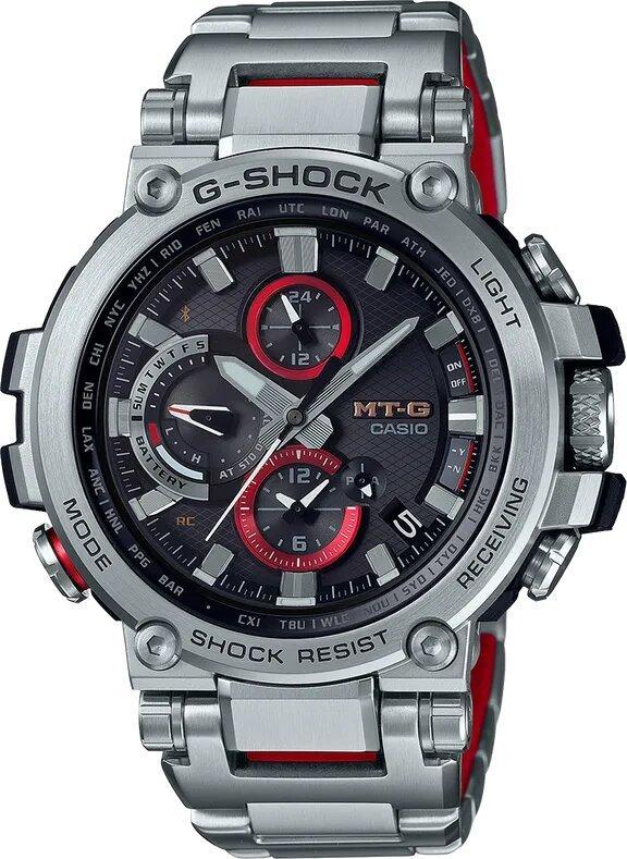 G-SHOCK G-SHOCK MT-G Triple G Resist Durability Men's Watch - Stainless Steel - Gemorie
