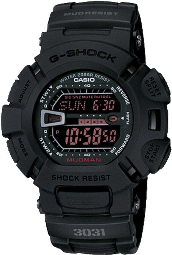 G-SHOCK G-SHOCK Mud Resistant Resin Band Men's Watch - Black - Gemorie