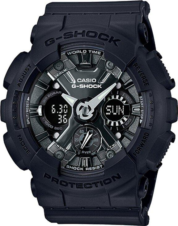 G-SHOCK G-SHOCK S Series 5 Daily Alarms Women's Watch - Black - Gemorie