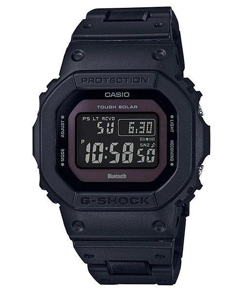 G-SHOCK G-SHOCK Solar-Powered Men's Digital Watch - Black - Gemorie