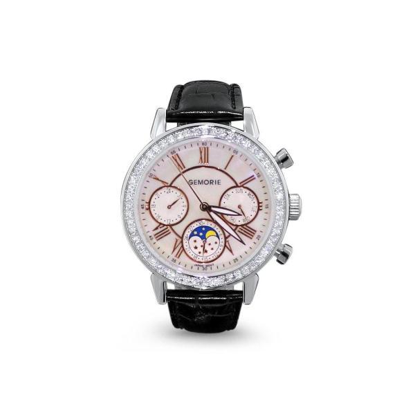 Gemorie Gemorie ''125800'' - Jewelry Watch with Zirconia in Silver Plating (125800) - Gemorie