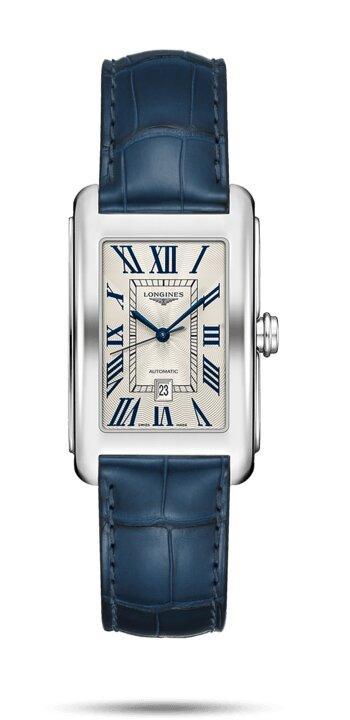 LONGINES LONGINES DolceVita Women's Automatic Movement Watch - Blue - Gemorie