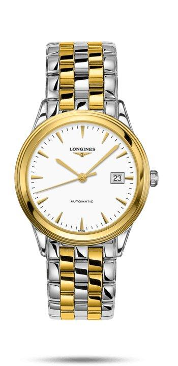 LONGINES LONGINES Flagship Automatic Movement Watch - Stainless Steel & Yellow PVD Coating - Gemorie