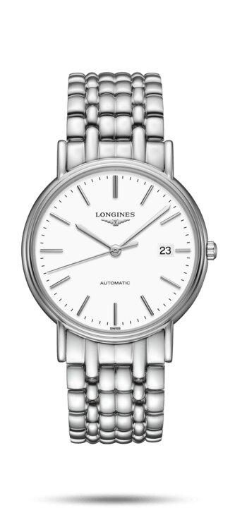LONGINES LONGINES Présence Sapphire Crystal Watch - Stainless Steel - Gemorie
