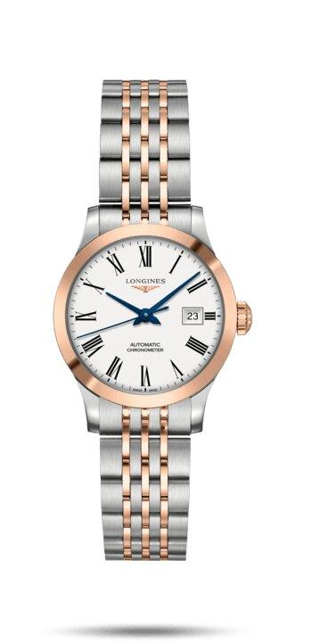 LONGINES LONGINES Record Collection Chronometer Certified Women's Watch - Stainless Steel - Gemorie