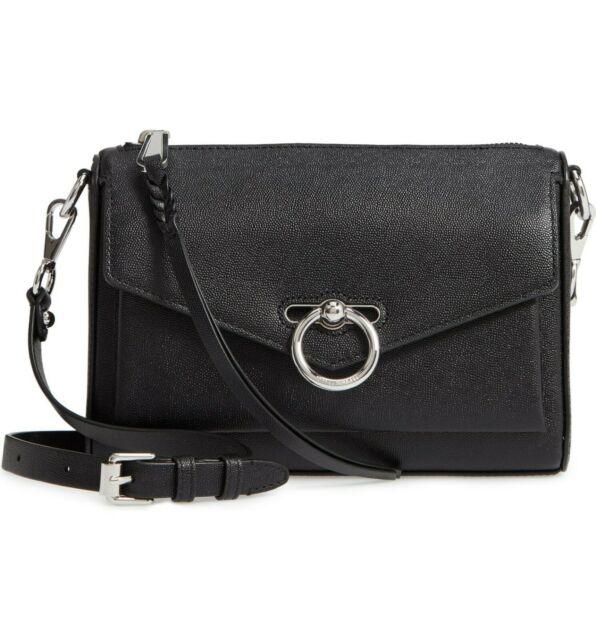 Rebecca Minkoff REBECCA MINKOFF Jean Mac Crossbody Bag Black - Gemorie