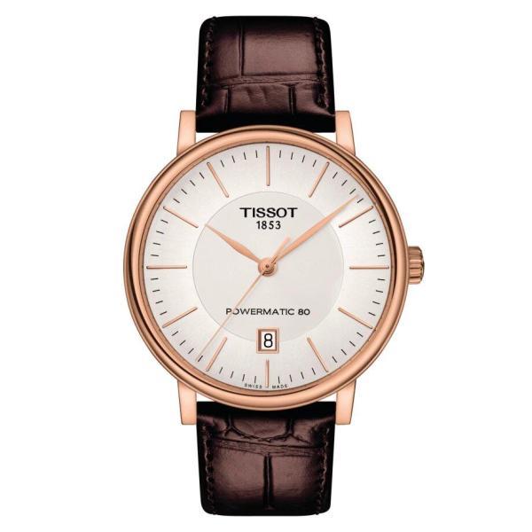 Tissot TISSOT Carson Premium Powermatic 80 Men's Watch - Brown - Gemorie
