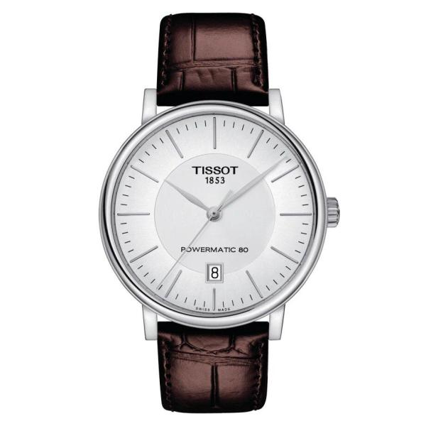 Tissot TISSOT Carson Premium Powermatic 80 Men's Watch - Brown - Gemorie