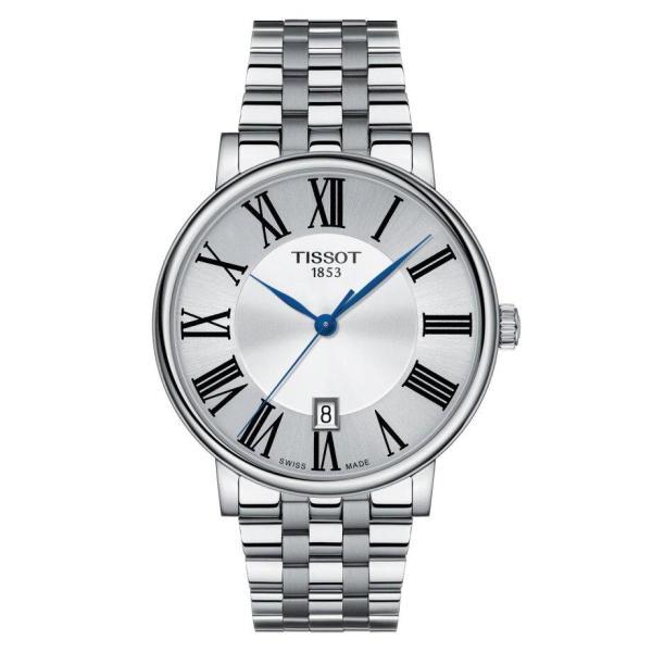 Tissot TISSOT Carson Premium Swiss Quartz Movement Men's Watch - Stainless Steel - Gemorie