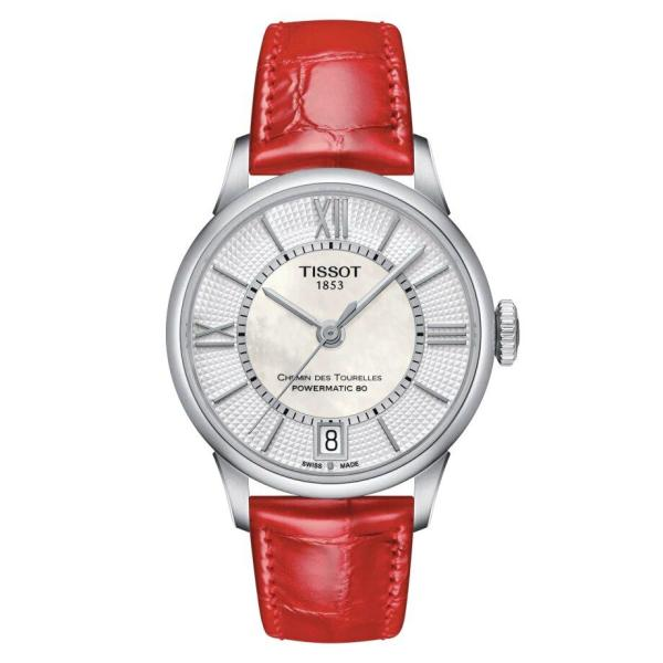 Tissot TISSOT Chemin Des Tourelles Powermatic 80 Lady - Red - Gemorie