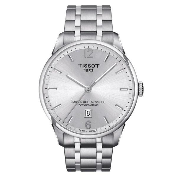 Tissot TISSOT Chemin Des Tourelles Powermatic 80 Men's Watch - Stainless Steel - Gemorie