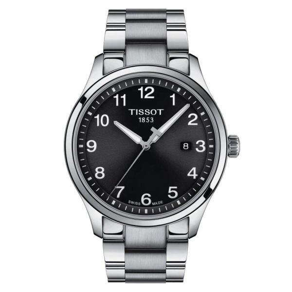 Tissot TISSOT Gent XL Classic with Folding Clasp Buckle - Stainless Steel - Gemorie