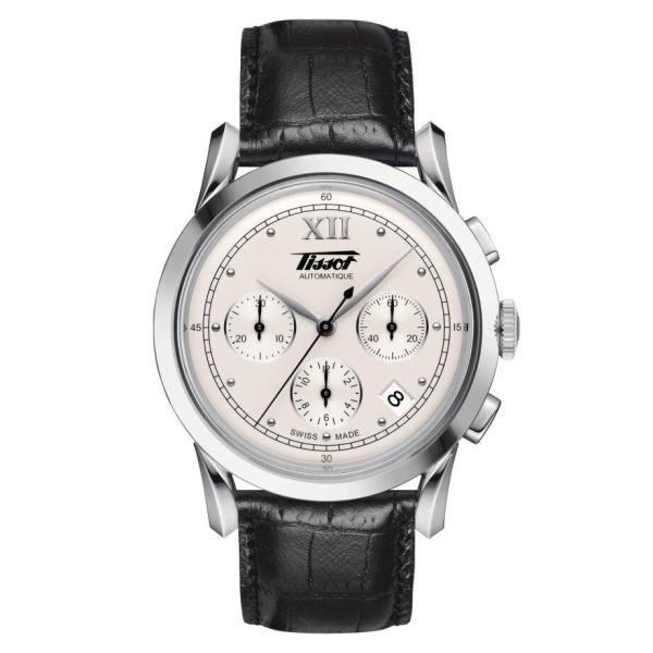 Tissot TISSOT Heritage 1948 Milanese Hesalite Crystal Men's Watch - Black - Gemorie