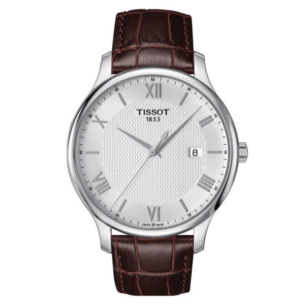 Tissot TISSOT Sapphire Crystal Tradition Men's Watch - Brown - Gemorie