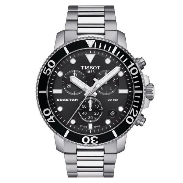 Tissot TISSOT Seastar 1000 Chronograph Men's Watch - Stainless Steel - Gemorie