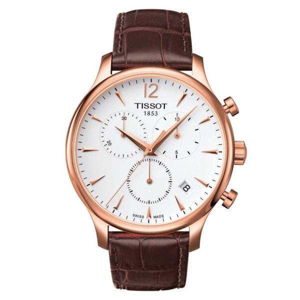 Tissot TISSOT Tradition Chronograph Men's Watch - Brown - Gemorie